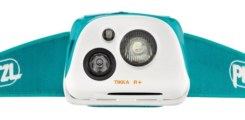 светодиодный фонарь Petzl TIKKA R+ светло-синий.