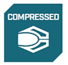 compressed